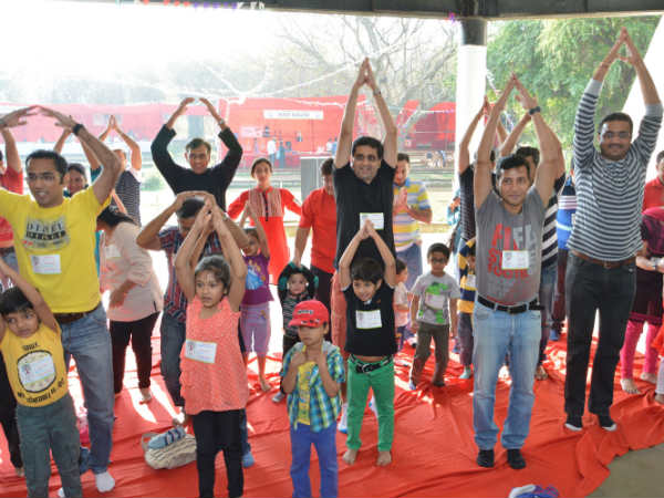Yoga Sessions with kids