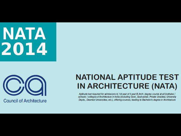 NATA 2014 Online Application from 21st February