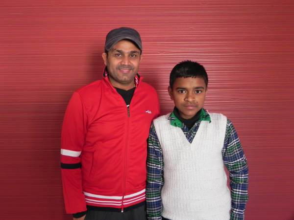 'Viru' gifts scholarship to child