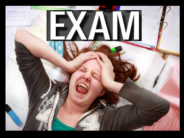 How to overcome anxiety in the middle of an exam?