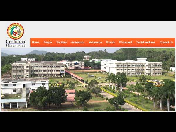 Centurion University Admission Notice 2014-15