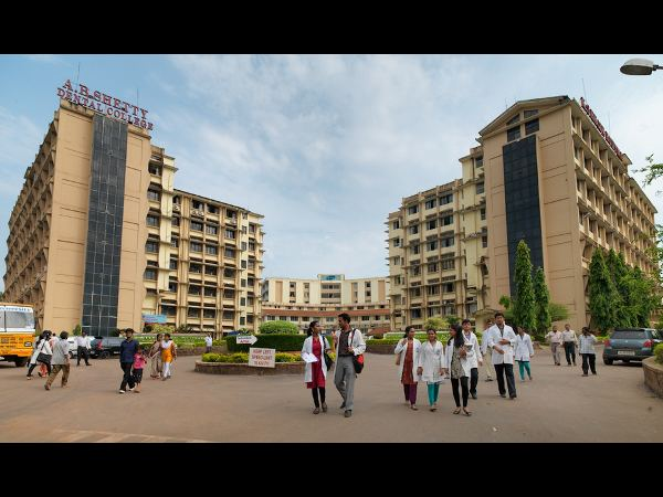 NITTE University counselling date for MDS course