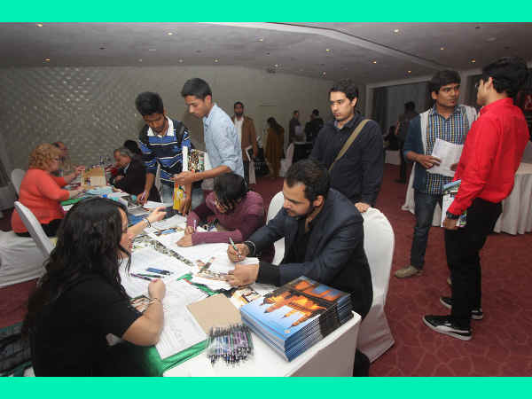 American Education Scholarship Expo in New Delhi