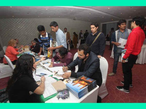 American Education Scholarship Expo in New Delhi