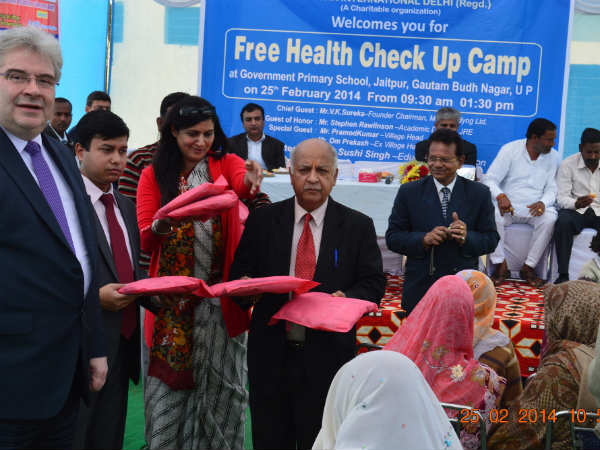 Free Health Check-up Camp by Educomp