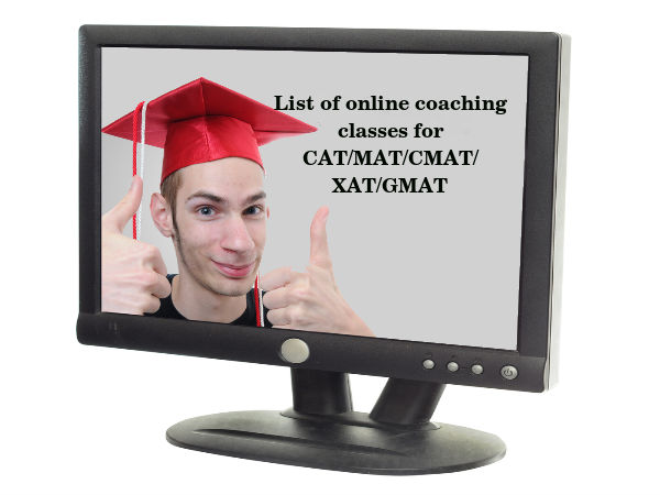 Online coaching classes for CAT/MAT/CMAT/XAT/GMAT
