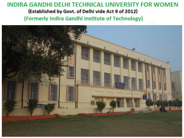 IGDTUW will open admissions to UG & PG courses