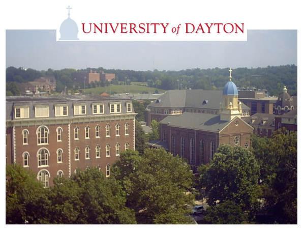 University of Dayton announces UG scholarships