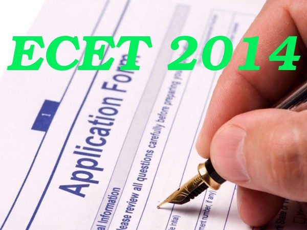 Request for corrections in ECET 2014 forms