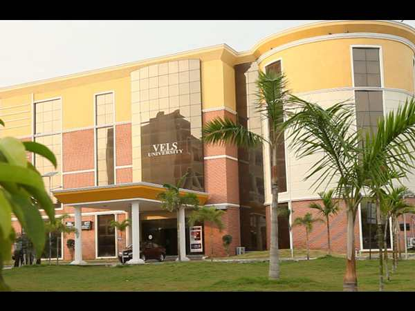 UG and PG courses admissions at Vels University