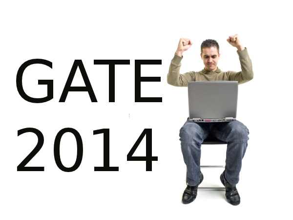 How does GATE 2014 score get calculated?