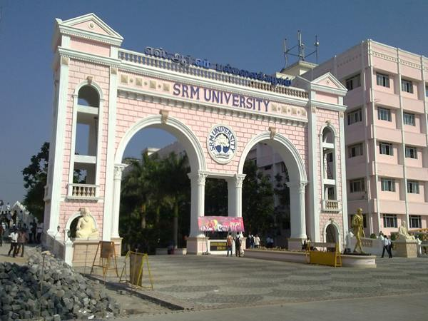 SRM varsity offers scholarships to the students