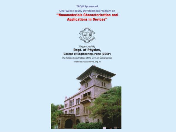 COEP declares 1-week faculty development programme
