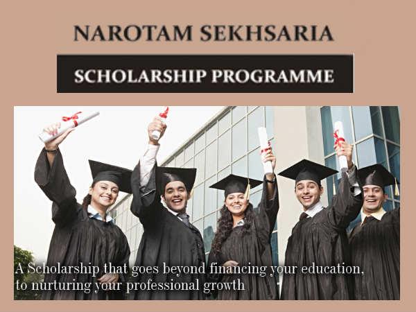 Narotam Sekhsaria Scholarship Programme