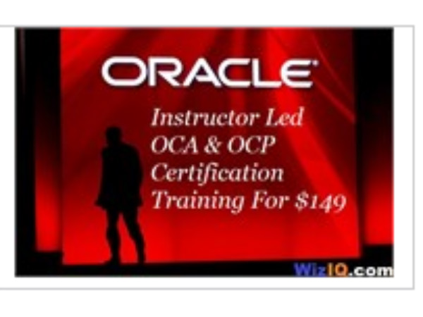 Online course on Oracle