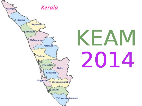 KEAM 2014 re-scheduled time table