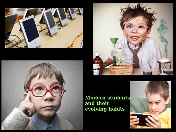 Modern students and their evolving habits
