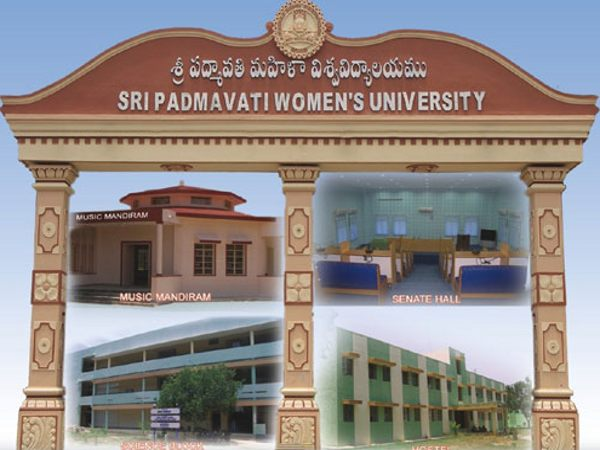 PG courses Admission at SPMVV, Tirupati