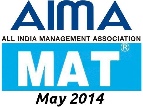 Check application status of MAT May 2014