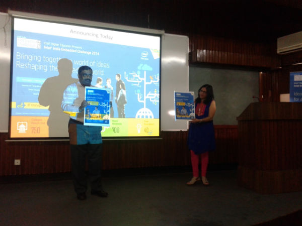The Intel India Embedded Challenge 2014