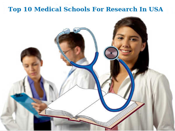Top 10 Medical Schools For Research In USA
