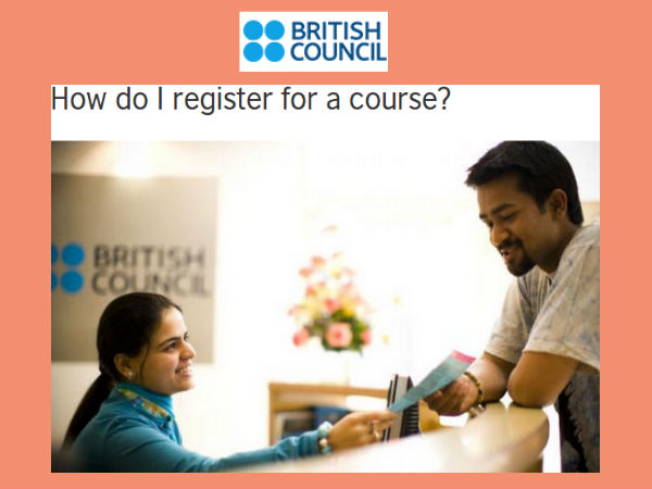 How To Register - British Council's Summer School