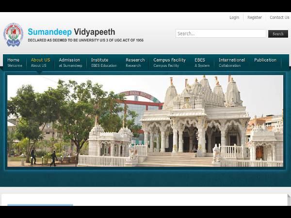 MBBS, BDS admissions at Sumandeep Vidyapeeth