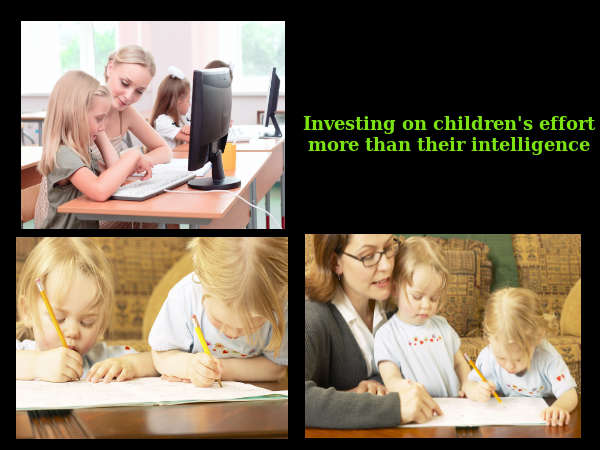 Children's Efforts Vs. Intelligence
