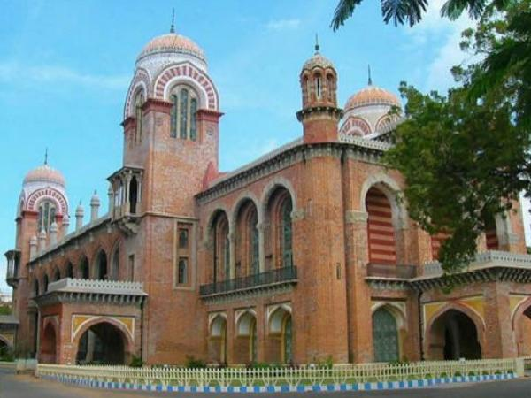 Madras University examination timetable April 2014