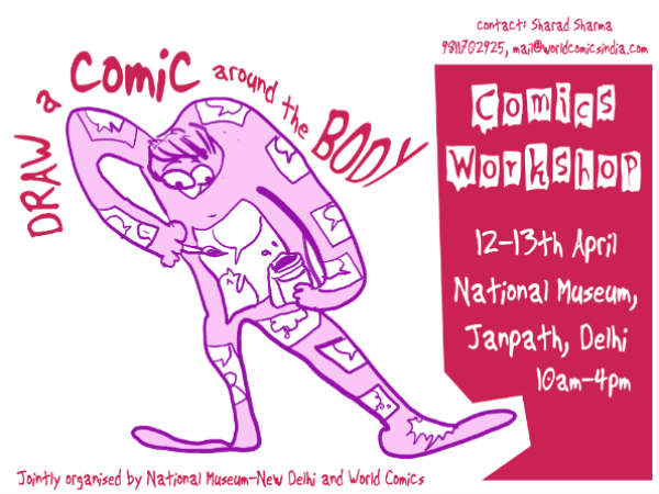 National Museum to hold comics workshop