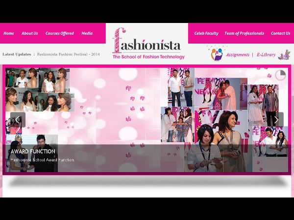 The School of Fashion Technology admission 2014