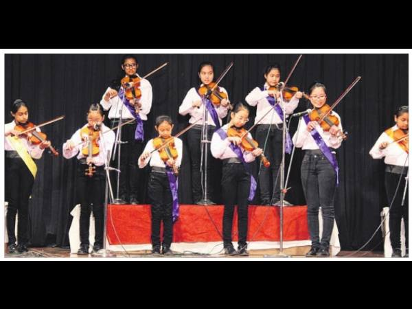 Mussoorie School hold its 20 Annual  Talent Fiest