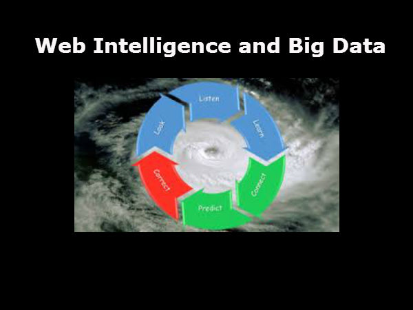 Where to Learn Web Intelligence and Big Data?