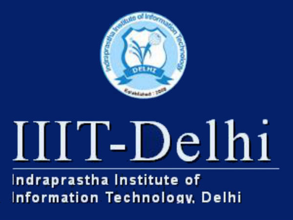 M.Tech programme admissions at IIIT Delhi