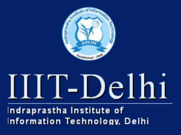 M.Tech programme admissions at IIIT Delhi