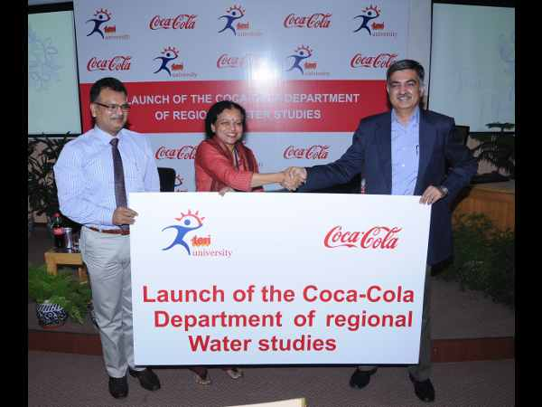 TERI University join hands with Coca-Cola
