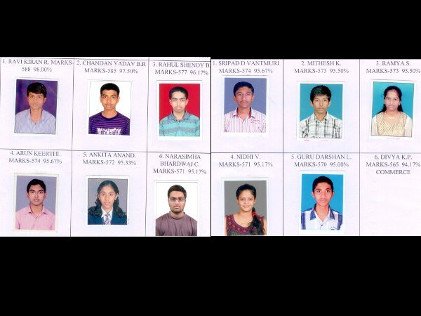 KLE Society PU College students excel in PU exams
