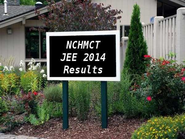 NCHMCT JEE 2014 Results Declared