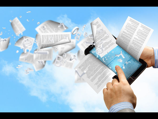 Advantages of e-books over printed books