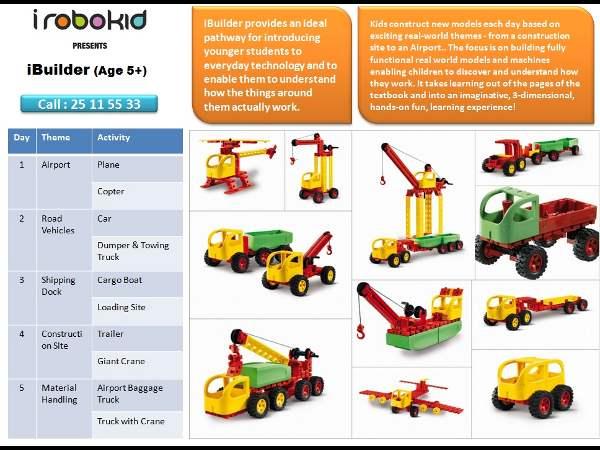 Fantastic Robotic Summer Workshop For Your Kids By Irobokid