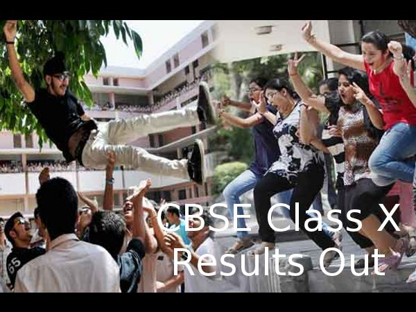 CBSE Class X 2014 results are out