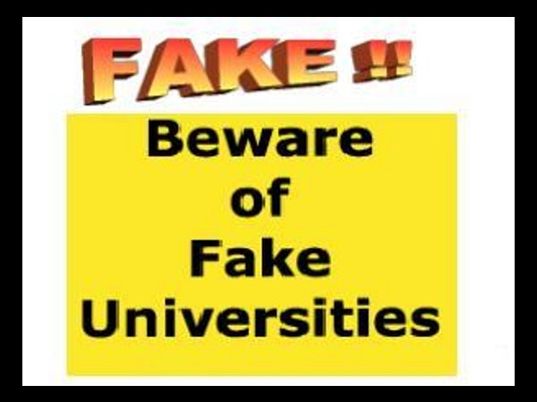 UGC declares 21 fake universities