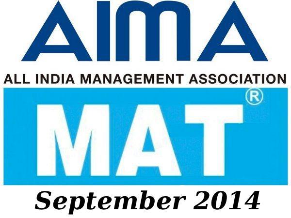 AIMA MAT September 2014 Online Registration