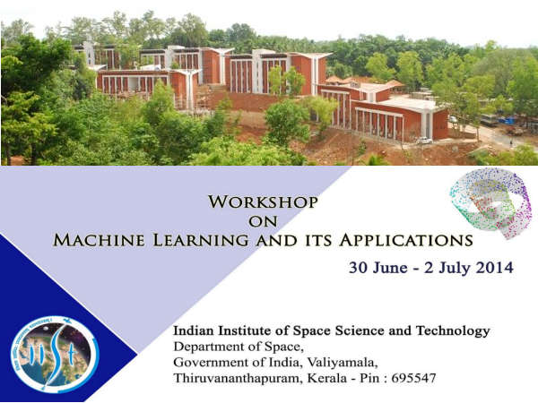 IIST, Kerala conducts workshop on Machine Learning