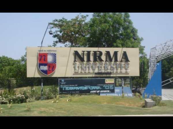 Nirma University applications for B.Tech 2014