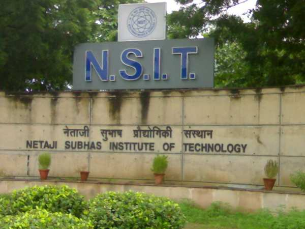 M.Tech admission at NSIT, Delhi