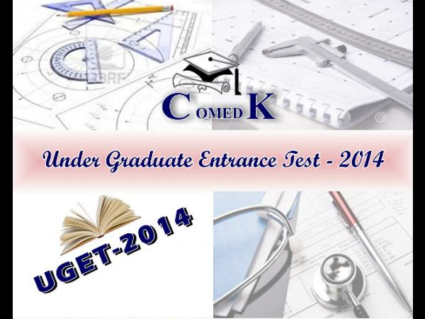 ComedK UGET 2014 test scores published