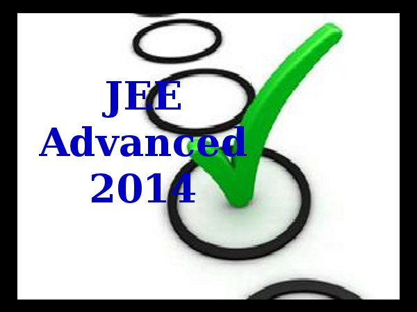 Answer Keys of JEE Advanced 2014 released