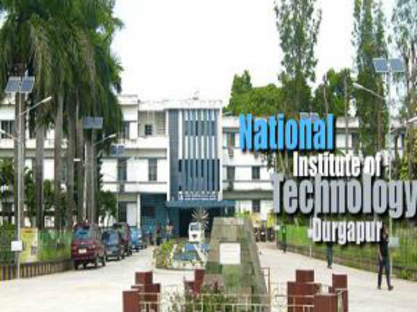 M.Tech and M.Sc admission in NIT Durgapur