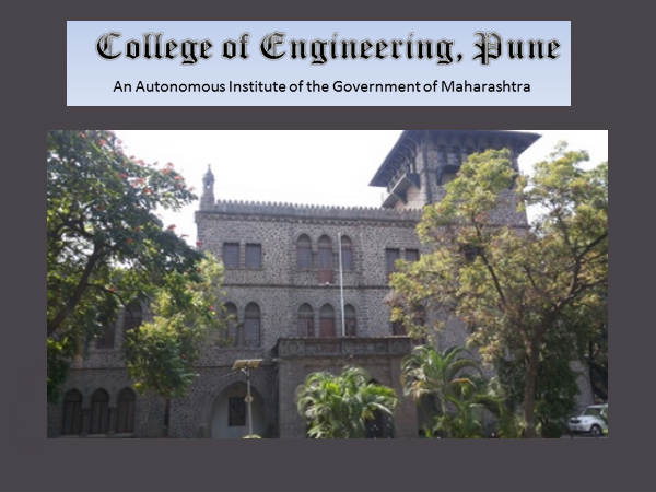 COE, Pune offers PG Diploma admissions